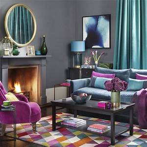 Trendy, Living, Room, Color, Schemes, And, Modern, Interior, Design, Ideas