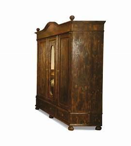 Kleiderschrank 2 Türig Holz : landhaus kleiderschrank 3 t rig ohne spiegel massiv aus holz ~ Bigdaddyawards.com Haus und Dekorationen