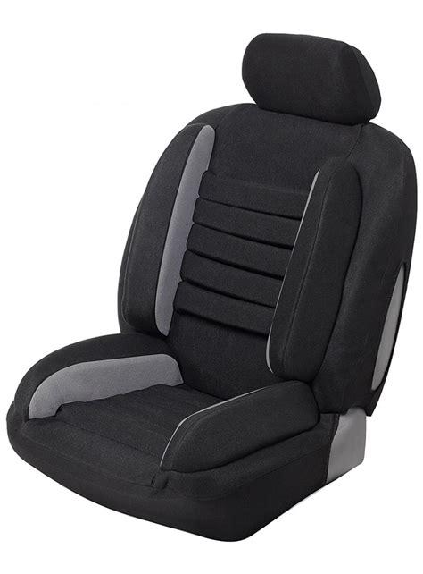 housse confort siege auto housse si 232 ge auto universelle anti mal de dos confort noir gris
