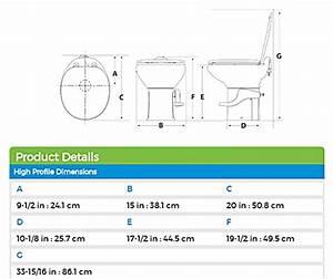 Thetford 42060 Aqua Magic Style Ii Rv Ceramic Toilet High