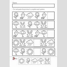 Pattern Worksheet  Crafts And Worksheets For Preschool,toddler And Kindergarten