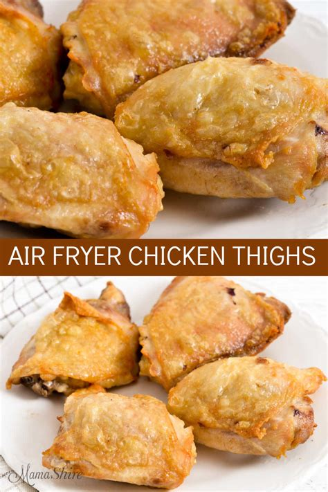 air fryer chicken thighs keto mamashire