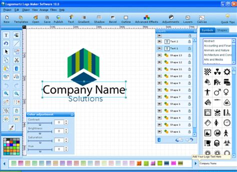 tech crome logosmartz logo maker  latest full version