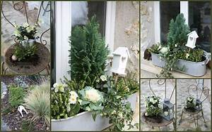 decoration jardiniere noel With ordinary decoration de bassin de jardin 17 decoration balcon decoration terrasse les photos pour