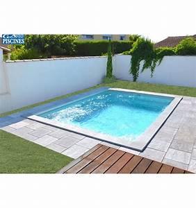 Piscine Enterrée Coque : piscine coque petite dimension aquanina pr te poser ~ Melissatoandfro.com Idées de Décoration