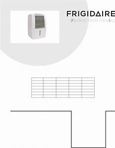 Frigidaire Dehumidifier Cad504dul10 User Guide