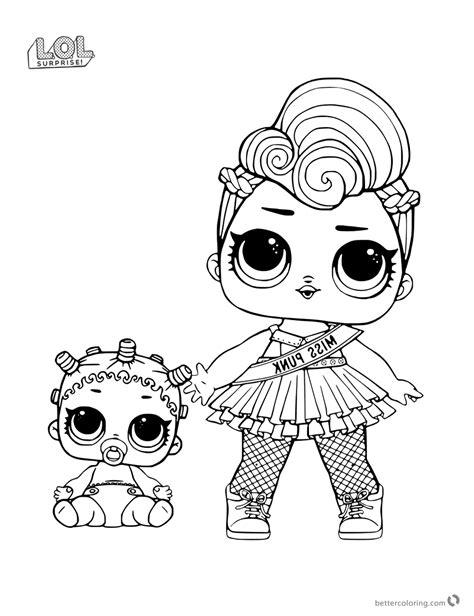 Dj Baby Kleurplaat by Miss Lol Doll Coloring Pages Free