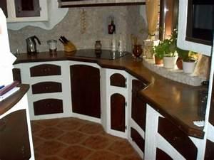 Küche Selbst Gebaut : einbauk che im mediterranen stil aus gasbeton selbst bauen ~ Lizthompson.info Haus und Dekorationen