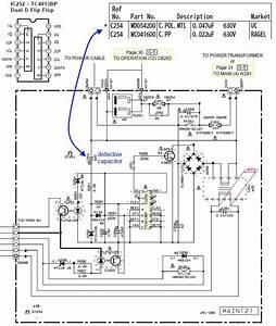 Yamaha Rx V397 Schematic Standby Circuit C254 Problem