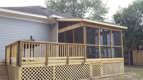 screened porches archadeck  central ga