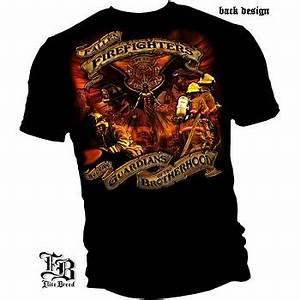 Guardian of the Brotherhood Fallen Firefighters T-Shirt ...