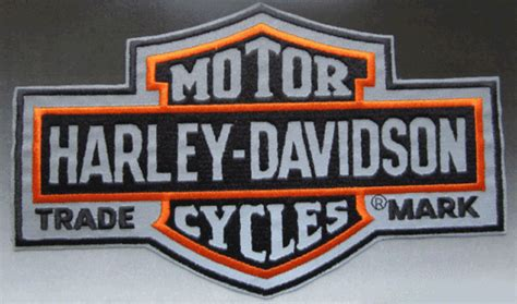 Harley Davidson Patches Reflective