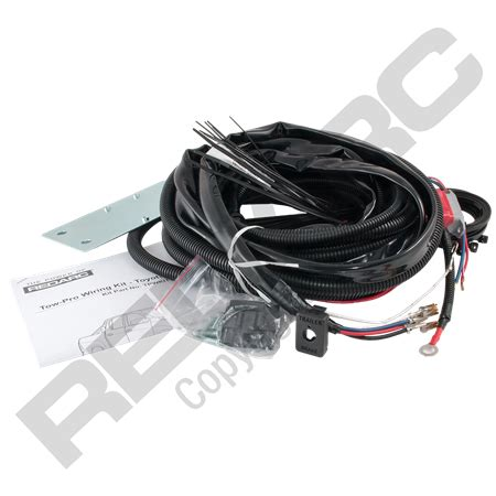 wiring kit to suit hilux and fortuner redarc electronics