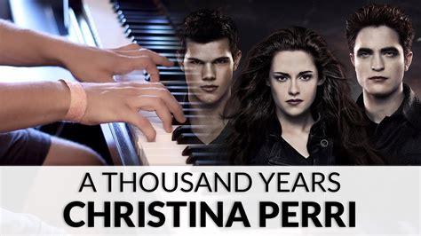A Thousand Years (the Twilight Saga
