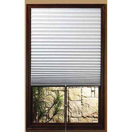 walmart window blinds 1 2 3 white shade vinyl room darkening temporary pleated