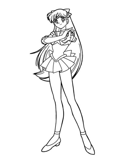 sailor moon coloring pages    print