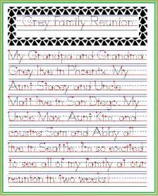 Printable Family Reunion Letter