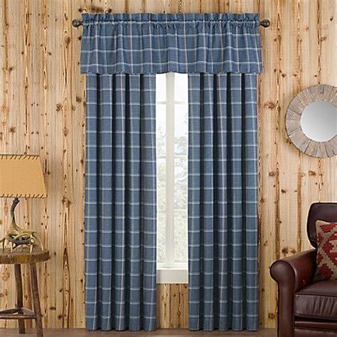 branklyn plaid window curtain panel  valance bed bath