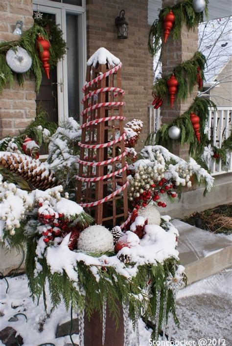 Christmas Decorating  Traditional  Porch Minneapolis