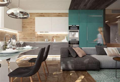separation cuisine salle a manger decoración de interiores juveniles ideas de diseño