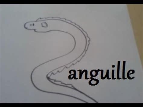 cuisiner une anguille dessiner une anguille