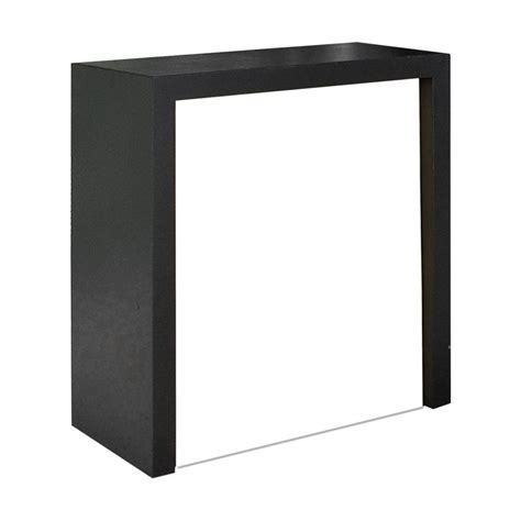 Comptoir Salon by Comptoir De Stand Pour Salon Desk Color Noir Easy Stand