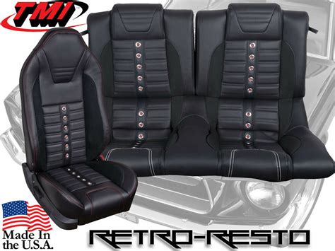 Upholstery Kit by 2005 2010 Ford Mustang Sport Xr Seat Upholstery Kit W