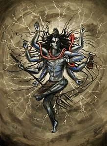 Shiva Canvas Painting - Bing Images | shiva | Pinterest ...
