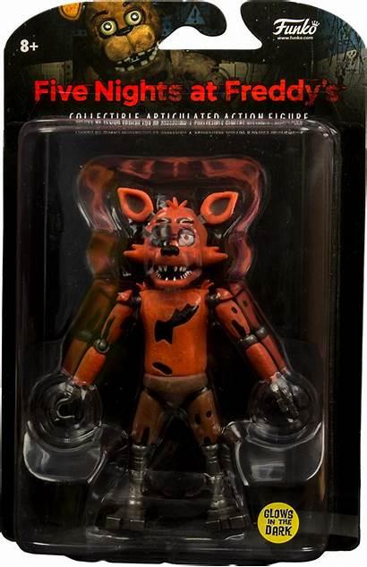 Fnaf Foxy Action Dark Glow Funko Merch