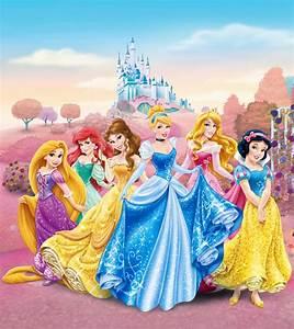 Fototapete Tapete Disney Prinzessinnen Prinzessin Foto 180