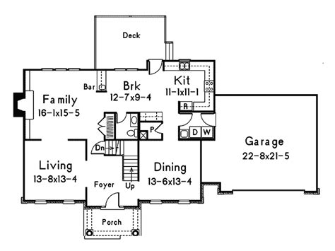 colonial style floor plans colonial style house plan traditional colonial house plan