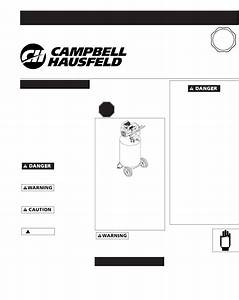 Campbell Hausfeld Air Compressor Wl6000 User Guide