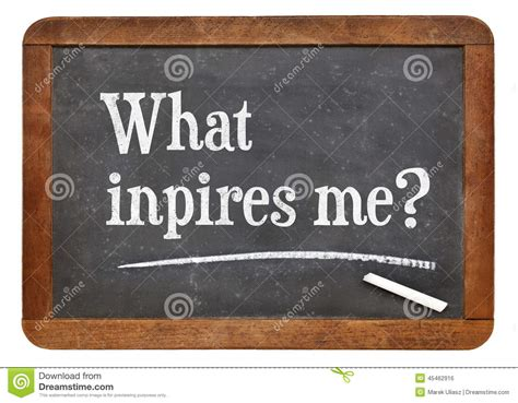 What inspires me? stock photo. Image of what, vintage ...