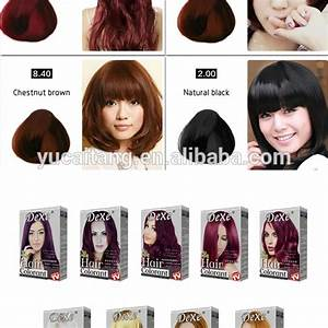Dexe Brand Fda Approved Permanent Type Hair Color Cream