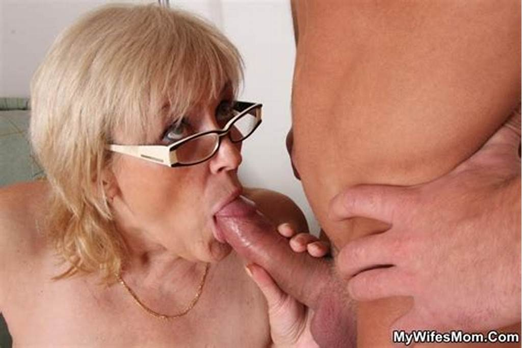 #He #Pulls #Out #And #Cums #On #Her #Granny #Legs #So #She #Can #Lick