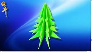 Origami Facile Noel : origami facile sapin de no l youtube ~ Melissatoandfro.com Idées de Décoration