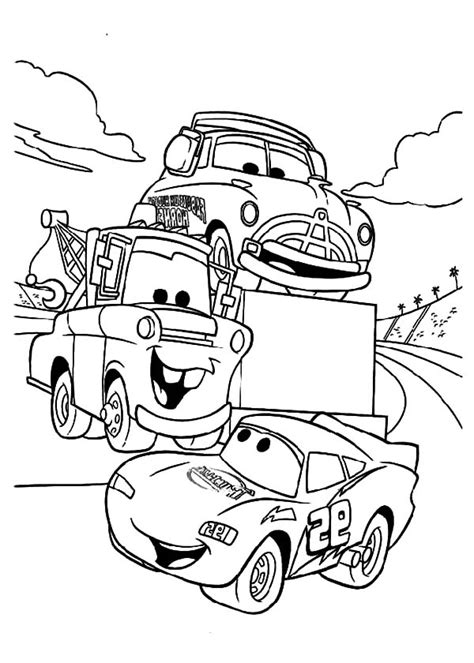 mater coloring pages tow mater say hallo to mcqueen coloring pages color