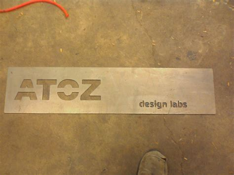 A To Z Design Labs Sign