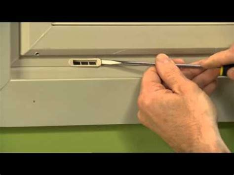 silicone caulk how to replace a weep cover on a vinyl window