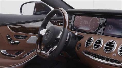 mercedes benz   class coupe interior hd trailer youtube