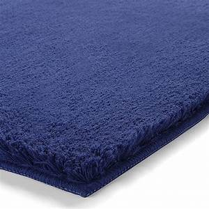 tapis de bain event bleu esprit home 55x65 With tapis de bain bleu