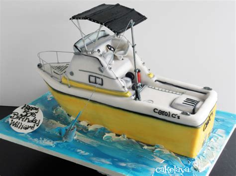 Boat Birthday Cake by Fishing Boat Birthday Cake Ideas And Designs