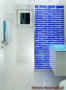 Duschwand Aus Glasbausteinen : pietre di vetro farbe cloud blu bilder ~ Sanjose-hotels-ca.com Haus und Dekorationen