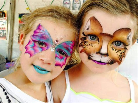 Schmetterling Und Katze, Butterfly And Cat #facepainting