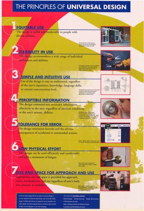 universal principles of design principles of universal design poster 1997 everybody