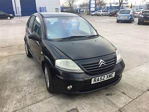 Citroen C3 2002 : citroen c3 exclusive 16v black 2002 in cardiff gumtree ~ Medecine-chirurgie-esthetiques.com Avis de Voitures