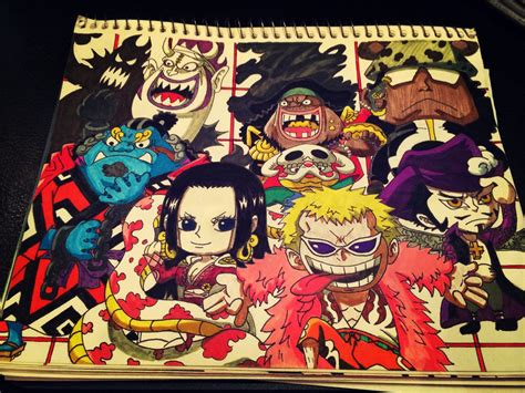 Chibi Seven Warlords From One Piece By Mic1225 On Deviantart