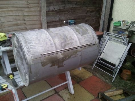 How To build your own no weld drum BBQ smoker   DIY