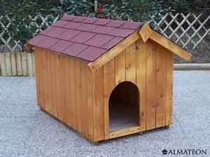 Niche Petit Chien : niche en bois ceasar pour petit chien 0 77m2 almateon ~ Melissatoandfro.com Idées de Décoration