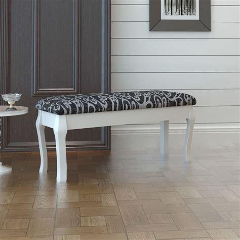 toilettafel tweedehands vidaxl gestoffeerde poef tweezits toilettafel zwart 110 cm